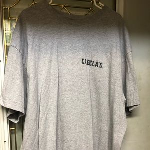 Men's cabelas tee shirt 3xl